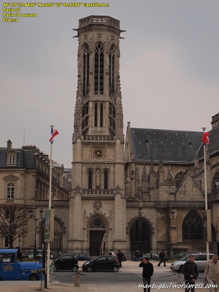 Gereja Église Saint-Germain L'Auxerrois