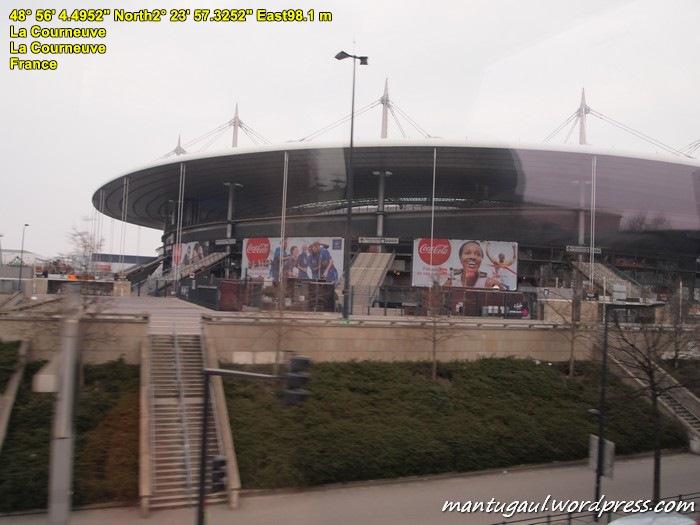 Salah satu stadium di Paris