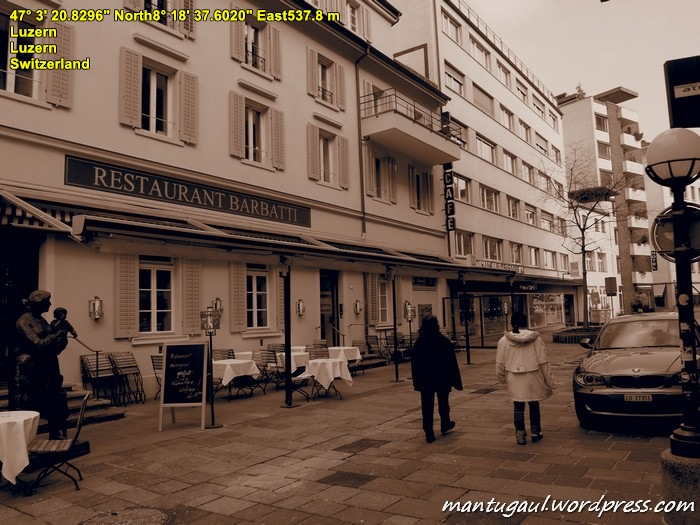 Sudut kota Lucerne