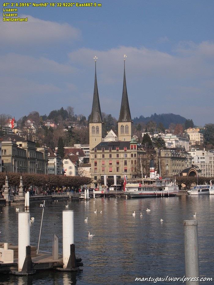 Pemandangan Kota Lucerne