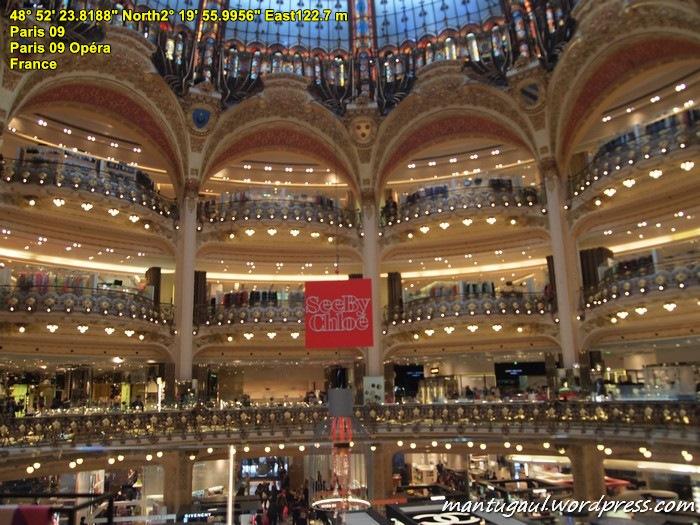 Galleries Lafayette, dept store terkenal di Paris dan sudah buka di Jakarta