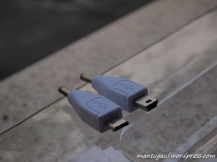 Konektor mini usb dan micro usb
