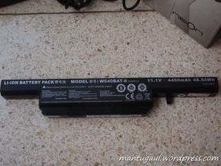 Baterai 6 cell 4400mAh