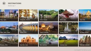 Bing Travel di Windows 8