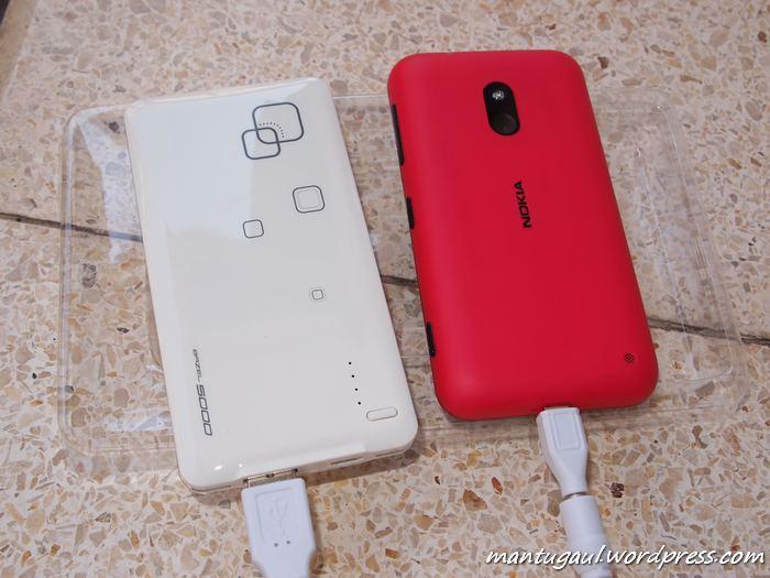 Mengisi Lumia 620