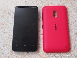 Nokia Lumia 620, dualshot dilepas