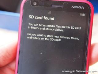 SDcard found
