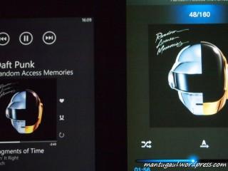 Perbandingan Amoled Lumia 620 vs N7000, 620 lebih tegas warnanya termasuk warna hitam