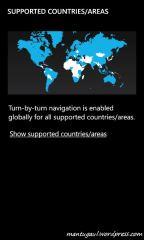Lisensi global untuk Here Drive+
