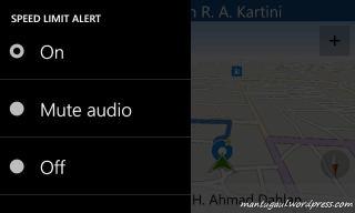 Mengubah audio alert