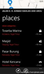 Places di Here Maps