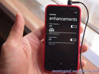 Pengaturan Dolby Sound di Lumia 620 dengan Hippo ProOne