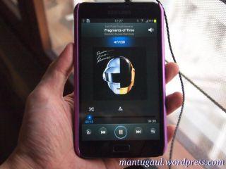 Samsung Galaxy Note dan Hippo ProOne