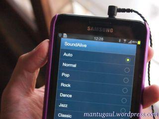 Pengaturan Equalizer di Samsung Galaxy Note dan Hippo ProOne