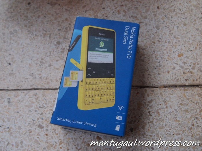 Review Nokia Asha 210, Smartphone Low-End Khusus Whatsapp (5/6)