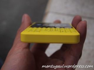 Tonjolan pada keypad