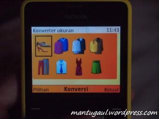 Converter pakaian