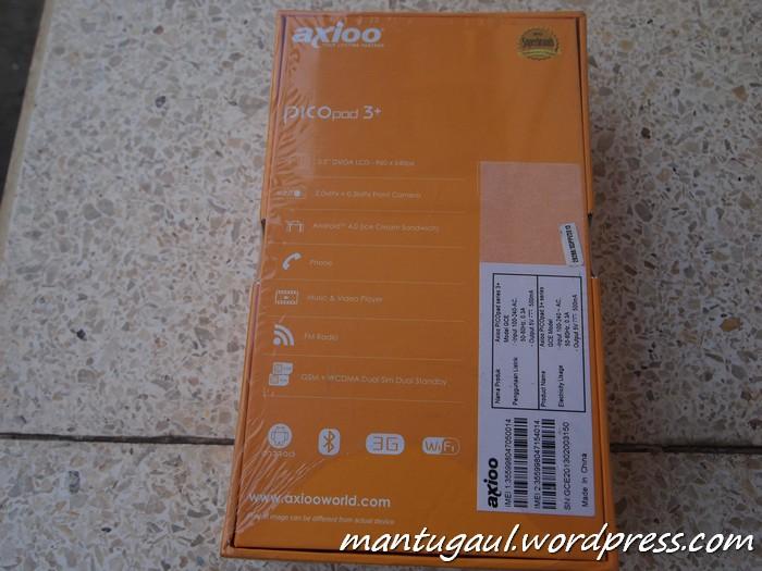 Review Ponsel Axioo Picopad 3+ GCE, Harga Rendah Resolusi Tinggi (4/6)