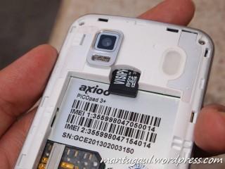 Slot micro SD