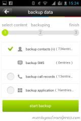 Mobile Assistant untuk backup dan restore