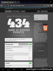 HTML 5 test paai browser bawaan