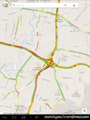 Maps traffic
