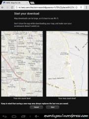Here Maps Offline mode