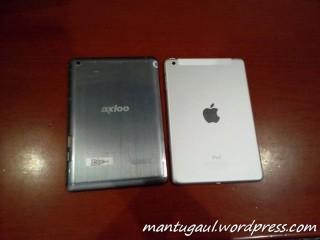 Perbandingan dengan iPad mini