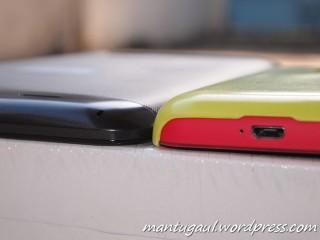 Ketebalan vs Nokia Lumia 620