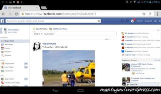 Facebook landscape