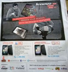 Iklan di koran kompas