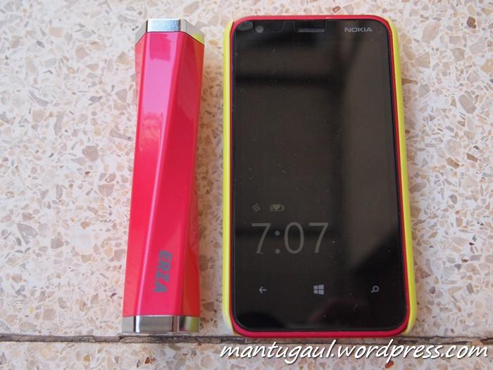 Perbandingan dengan Lumia 620