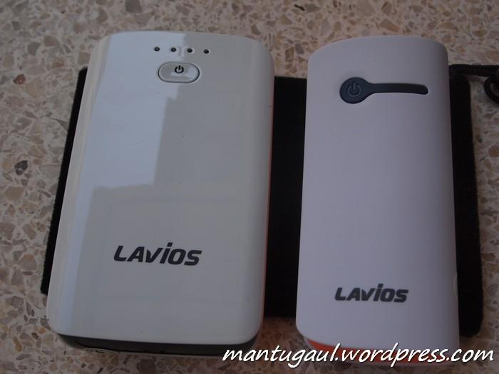 Perbandingan dengan Powerbank Lavios 7800mAh
