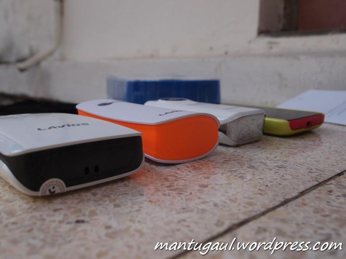 Perbandingan dengan Powerbank Lavios 7800mAh, 5600mAh & Lumia 620