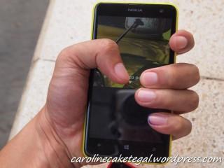 Genggaman pada Nokia Lumia 625