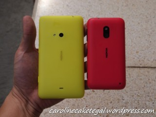 Genggaman pada Nokia Lumia 620