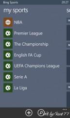 Bing Sports