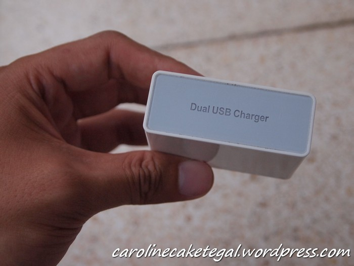 Dual USB Charger by Delcell juga