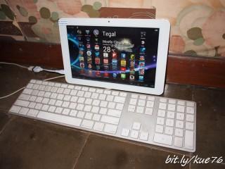 USB-OTG dengan keyboard apple