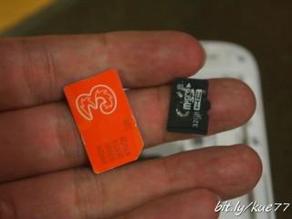 Siapkan SIM card dan micro SD