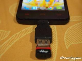 Tidak bisa USB OTG