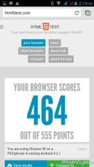 HTML5 test dengan Browser Chrome