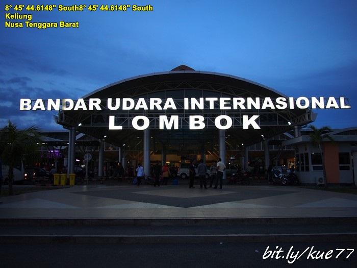 Sampai di Lombok sudah sore