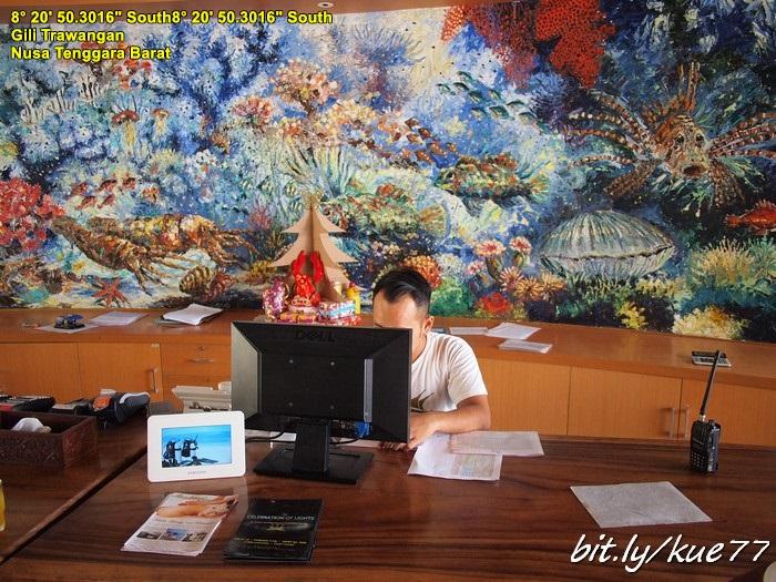 Check in di Hotel Queen Gili Trawangan