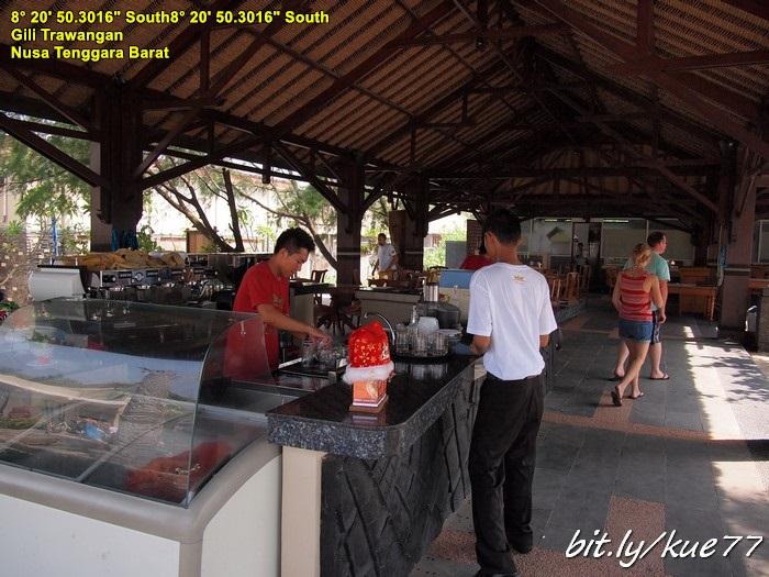 Restoran Hotel Queen Gili Trawangan