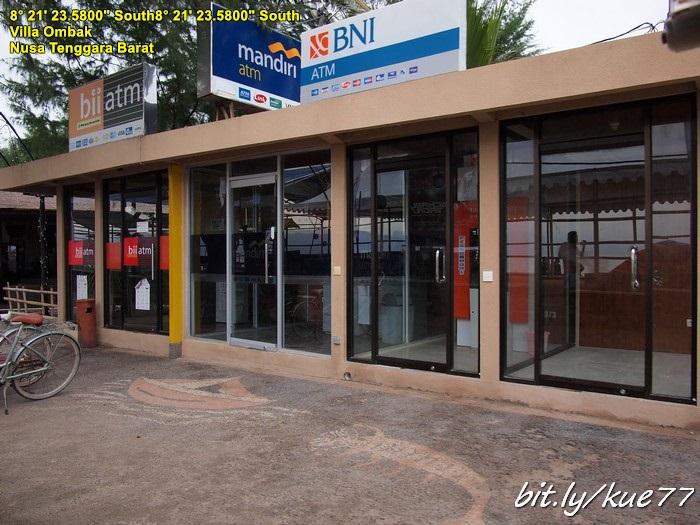 Ada banyak ATM di Gili Trawangan