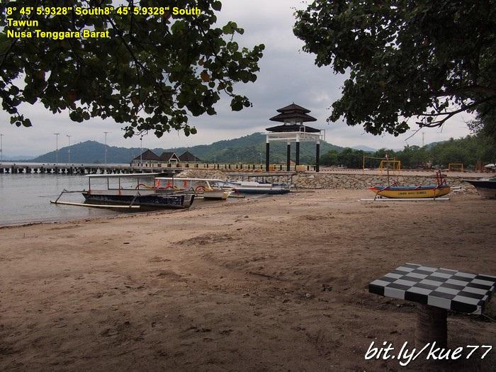 Next trip ke Honemoon Islands alias Gili Nanggu dan sekitarnya, ini di pelabuhan Tawun