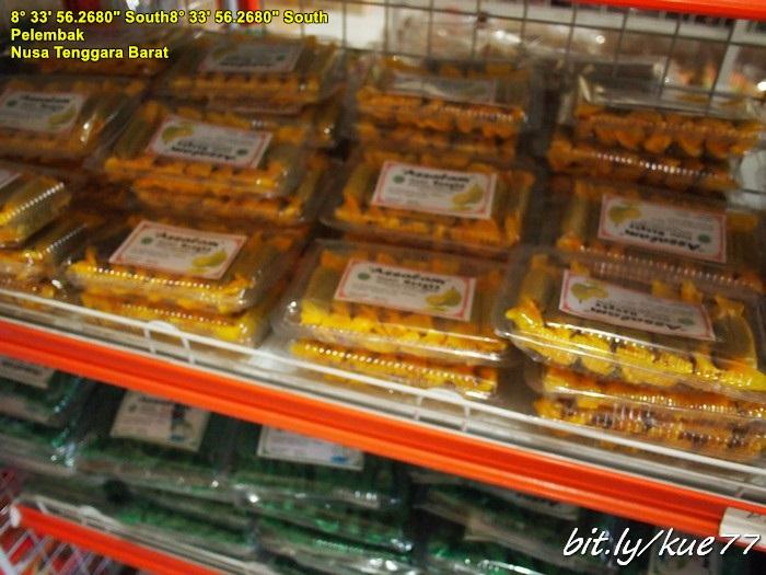 Pusat oleh-oleh makanan Khas Lombok