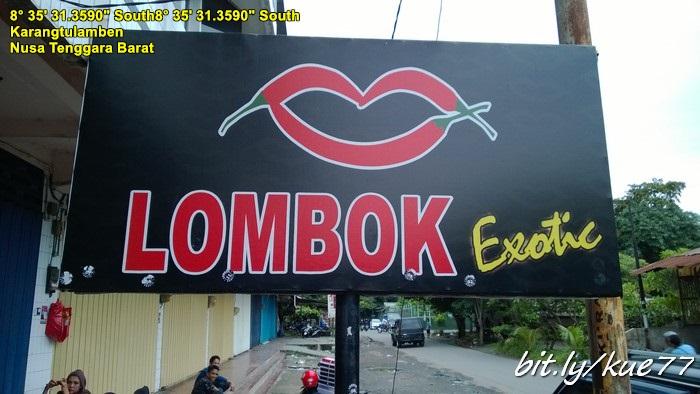 Lombok exotic, kaos khas Lombok beli disini