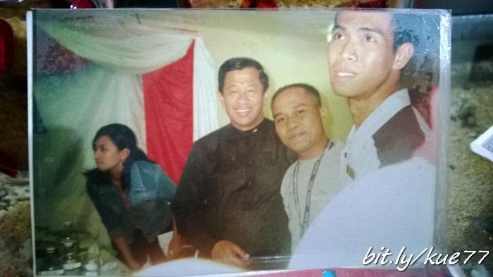 Foto Mas Azis ama Agum Gumelar saat masih bertugas di kapal pesiar